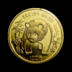 31,134 g, China Panda Gold Coin (1986)