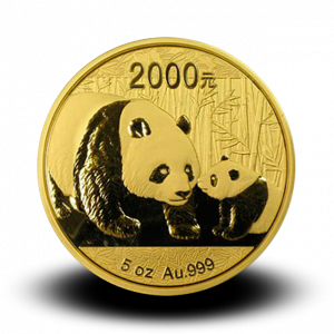 155,65 g, China Panda Gold Coin (2011)
