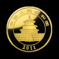 155,65 g, China Panda Gold Coin (2011)