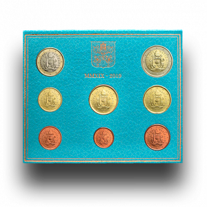 Vatican, Euro collection 2019