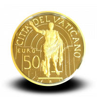 15 g, Pontificate of Pope Benedict Gold Coin - Apollo of the Belvedere, 2010
