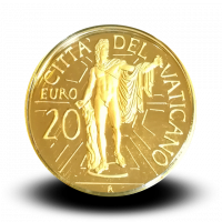 6 g, Pontificate of Pope Benedict Gold Coin - Apollo of the Belvedere, 2010
