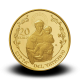 6 g,  Pontificate of Pope Francis Gold Coin - Pontifical Basilica of Saint Anthony of Padua, 2017