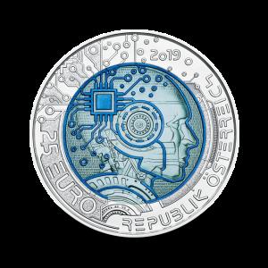 16,5 g, Srebrni niobij - Umetna inteligenca, 2019