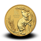 15,5940 g, Australian Lunar Gold Coin - Year of the Mouse 2020