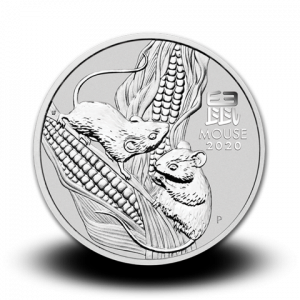 311,347 g, Australian Lunar Silver Coin - Year of the Mouse 2020