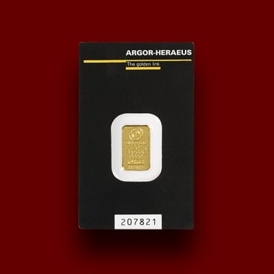 2 g, Zlata palica / Gold bar