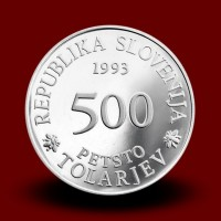15 g, 300 years of the founding of the Academia Operosorum Labacensium (1993) **