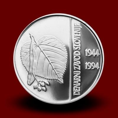 15 g, 50. obletnica ustanovitve Denarnega zavoda Slovenije**