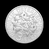 16 g Spinozaver - 3 € zbirateljski kovanec (2019), serija Superzavri