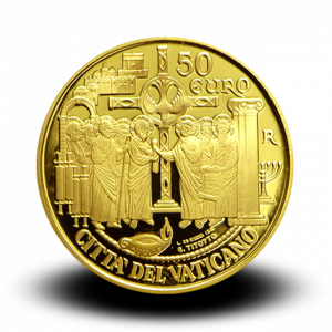 15 g, Pontificate of Pope Francis Gold Coin - First Missions and the Council of Jerusalem