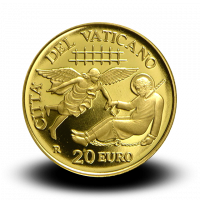 6 g, Pontificate of Pope Francis Gold Coin - First Missions and the Council of Jerusalem, 2019