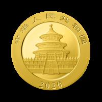 1 g, China Panda Gold Coin - 2020