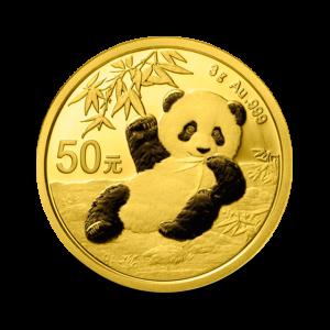 3 g,  China Panda Gold Coin - 2020