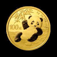 8 g, China Panda Gold Coin - 2020
