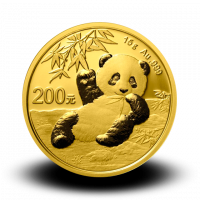 15 g, China Panda Gold Coin - 2020
