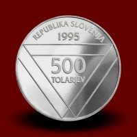15 g,  100 th anniversary of the setting up of the Aljaž Turret (1995) **