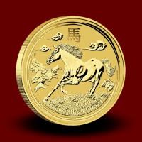 3,133 g, Australian Lunar Gold Coin - Year of Horse 2014