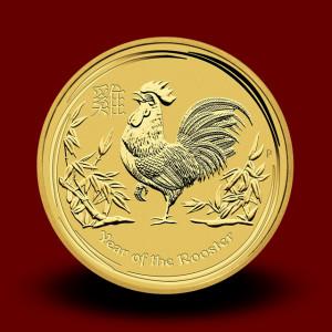 1,571 g, Australian Lunar Gold Coin - Rooster (2010)