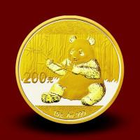15 g, China Panda Gold Coin - 2016