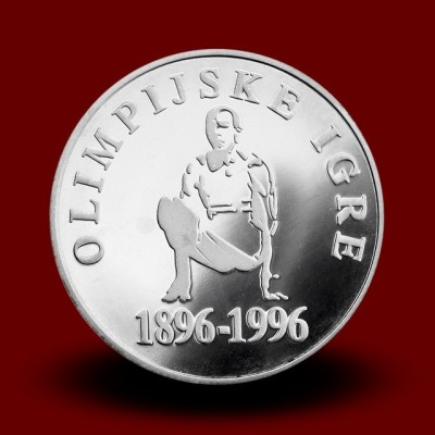 15 g, 100-letnica olimpijskih iger moderne dobe/100 years of Olympic games of modern times (1996) **