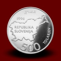 15 g, 5. obletnica osamosvojitve/5th anniversary of independence (1996) **