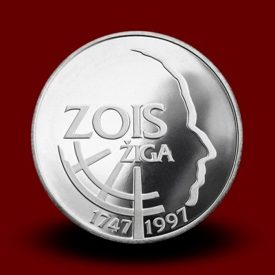 15 g, 250. obletnica rojstva Žige Zoisa/250th anniversary of the birth of Ziga Zois (1997) **