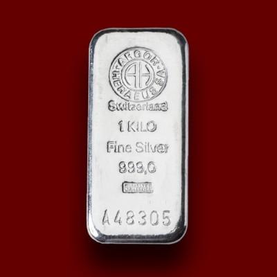 1000 g, Srebrna palica / Silver Bar
