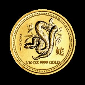 3,133 g, Australian Lunar Gold Coin - Dragon 2012