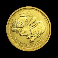 1,5710 g, Australian Lunar Gold Coin - snake (2013)