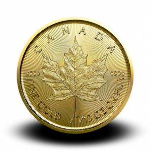3,131 g, Canadian Maple Leaf Gold Coin