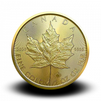 31,15 g, Canadian Maple Leaf Gold Coin