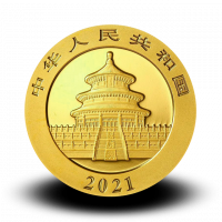 1 g, China Panda Gold Coin - 2020