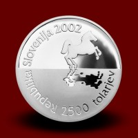 15 g, On occasion of the 35th Chess olympiad Bled, Slovenia (2002) **