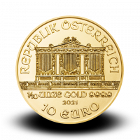 3,1103 g, Vienna Philharmonic Gold Coin 1989-2021