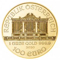 31,1035 g, Vienna Philharmonic Gold Coin 1989-2015