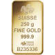 250 g, Gold Bar PAMP