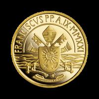 3 g, zlatnik Pontificato di S. Francesco 2021