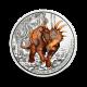 16 g Styracosaurus albertensis - 3 € zbirateljski kovanec (2021), serija Superzavri