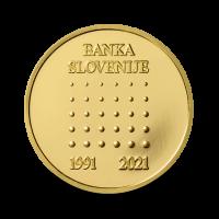 7 g medalja 30. obletnica ustanovitve Banke SLovenije