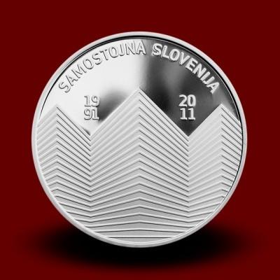15 g, 20-letnica samostojnosti RS/20th Anniversary of Slovenia's Independence (2011) **