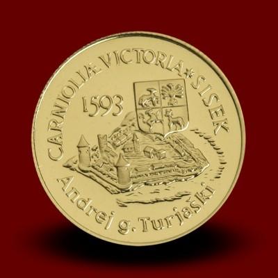 7 g, 400-letnica bitke pri Sisku / 400th anniversary of the battle of Sisek / 1993 **