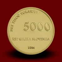 7 g, 1000 let smrti škofa Abrahama, Brižin. spom. / 1000 years anniversary of the death of Bishop Abraham / 1994 **