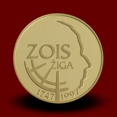 7 g, 250-letnica rojstva Žige Zoisa / 250th anniversary of the birth of Ziga Zois / 1997 **