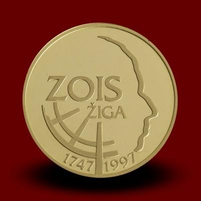7 g, 250-letnica rojstva Žige Zoisa / 250th anniversary of the birth of Ziga Zois / 1997 **