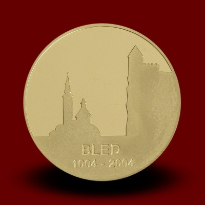 7 g, 1000-letnica prve pisne omembe Bleda / 1000th anniversary of the first written mention of Bled / 2004 **