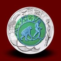 16,5 g (Ag/Nb) - Evolucija / Evolution (2014), bimetalni kovanec - NOVO