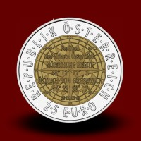 16,5 g (Ag/Nb) - Evropska satelitska navigacija / Europӓische Satellitennavigation (2006), bimetalni kovanec** - RAZPRODANO