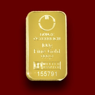 50 g, Zlata palica / Gold Bar