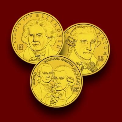 Haydn - Beethoven - Mozart / Große Komponisten / Zbirka veliki komponisti: